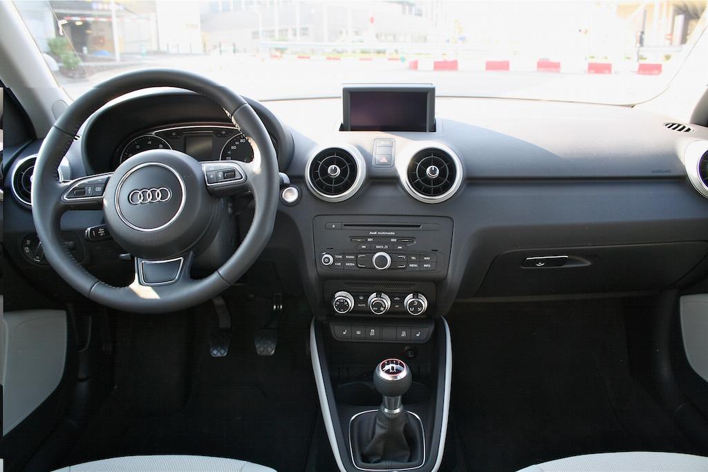 audi a1 sportback interior car interior design