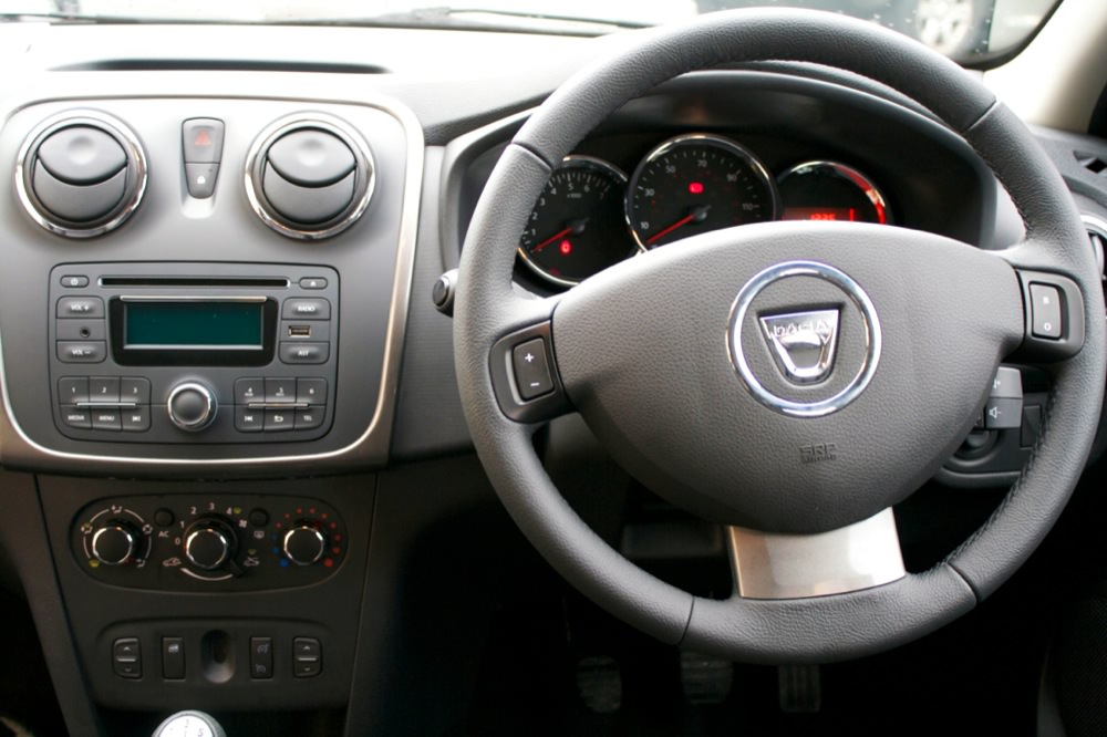 Dacia Sandero interior - 50 to 70
