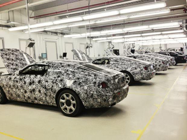 Rolls-Royce Wraith prototype