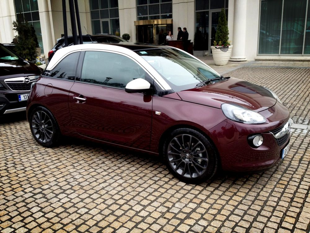 Opel Adam Glam 50 To 70