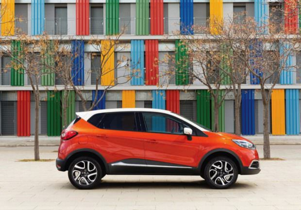 Renault Captur side