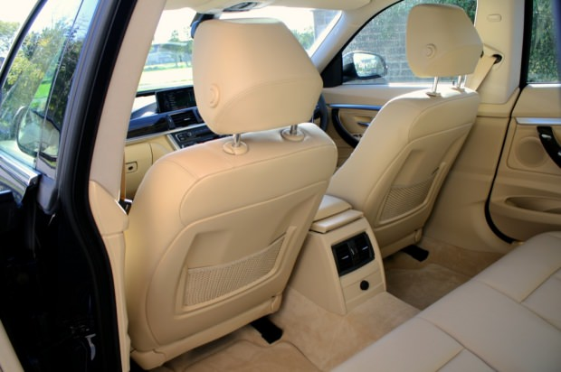 BMW 3 Series Gran Turismo interior rear