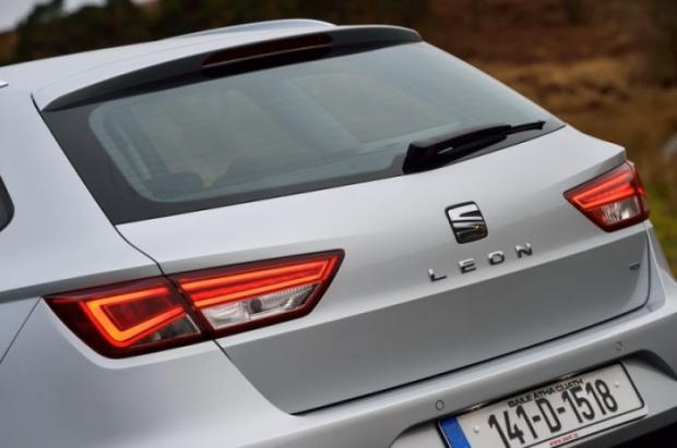SEAT Leon ST rear detail