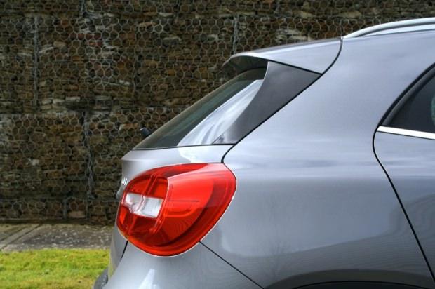 Mercedes GLA rear light