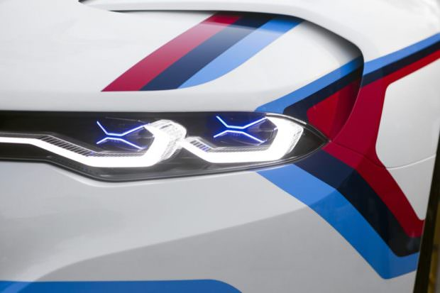 BMW 3.0 CSL Hommage R headlight