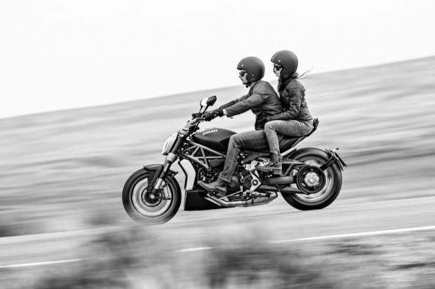 Ducati XDiavel two up