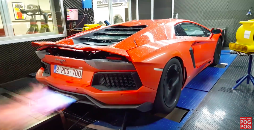 insane lamborghini dyno run 50 to 7050 to 70. Black Bedroom Furniture Sets. Home Design Ideas
