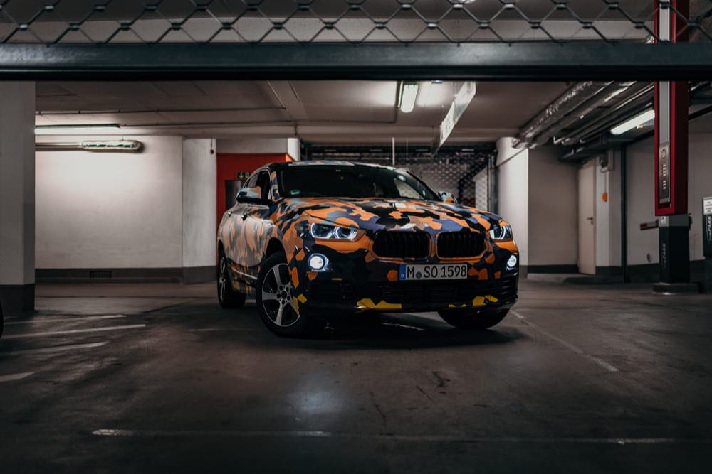 Gallery: BMW X2 breaks cover in camo