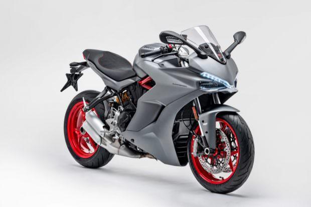 Ducati Supersport light details