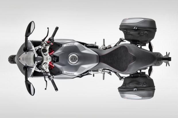 Ducati Supersport top view