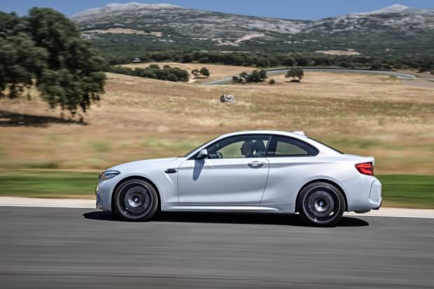 BMW M2 Competition side profile