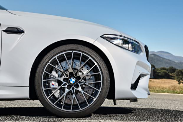 BMW M2 Competition front wheel