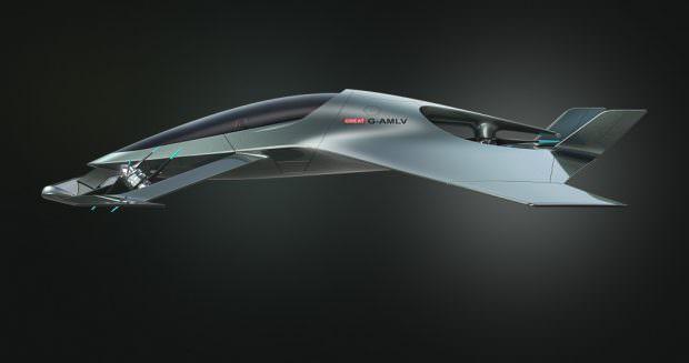 Aston Martin Volante Vision Concept side view