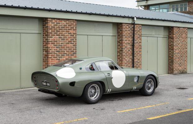 Aston Martin DP215 rear view