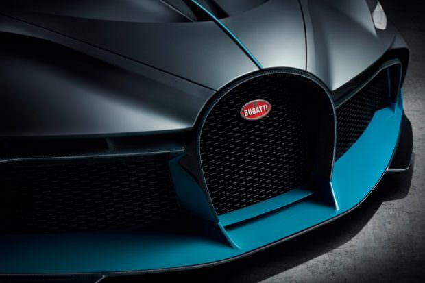 Bugatti Divo grille