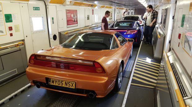 Honda NSX Channel Tunnel