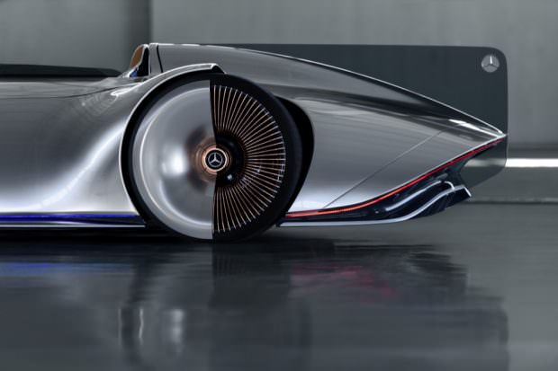 Mercedes-Benz Vision EQ Silver Arrow wheels