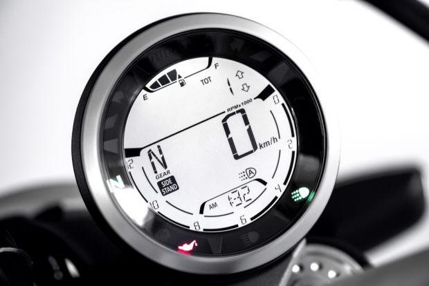 Ducati Scrambler Icon display