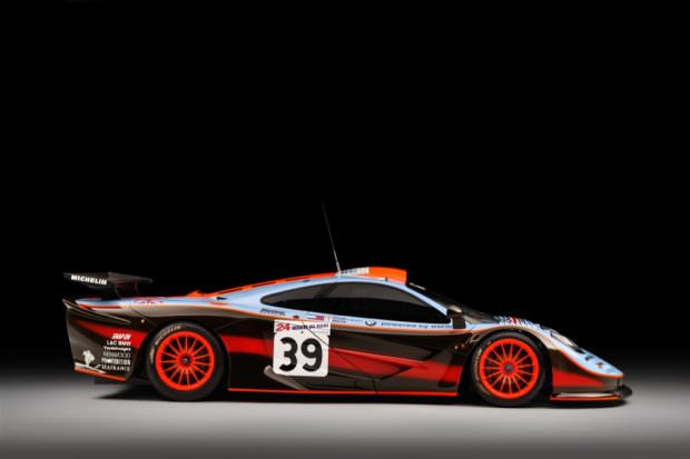 McLaren F1 GTR side profile