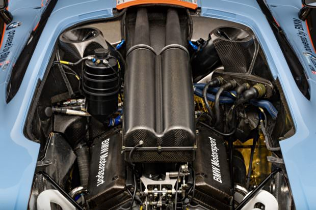 McLaren F1 GTR engine bay