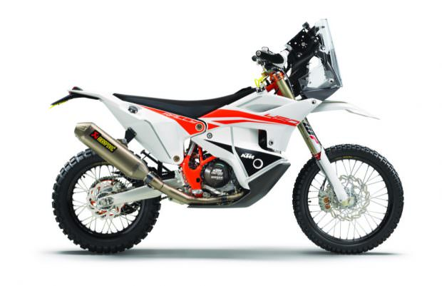 KTM 450 Rally Replica side profile