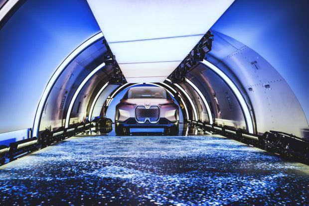 BMW Vision iNEXT inside plane