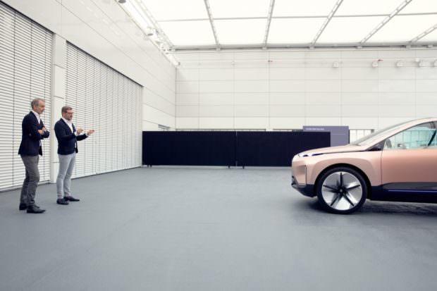 BMW Vision iNEXT design studio