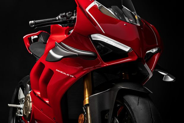 Ducati Panigale V4 R front detail
