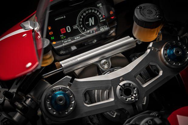 Ducati Panigale V4 R dash