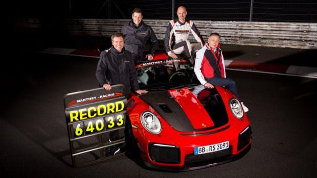 Porsche 911 GT2 RS MR team