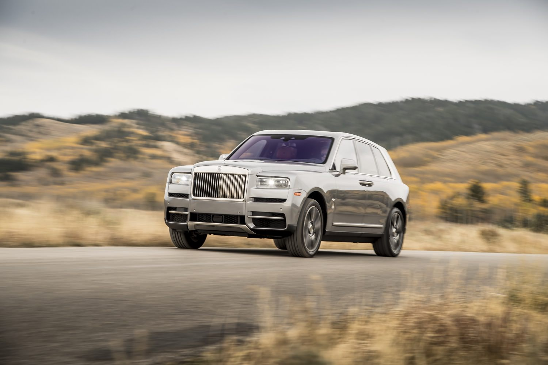 Rolls-Royce Cullinan front quarter view