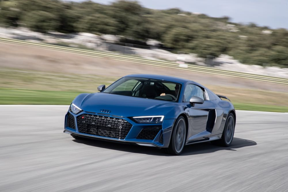 Audi R8 Facelift Just Hit The Sunlight Or Coupe In Previous Pic