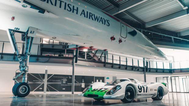 Porsche 917 meets Concorde