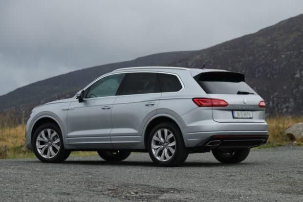 Volkswagen Touareg rear quarter view