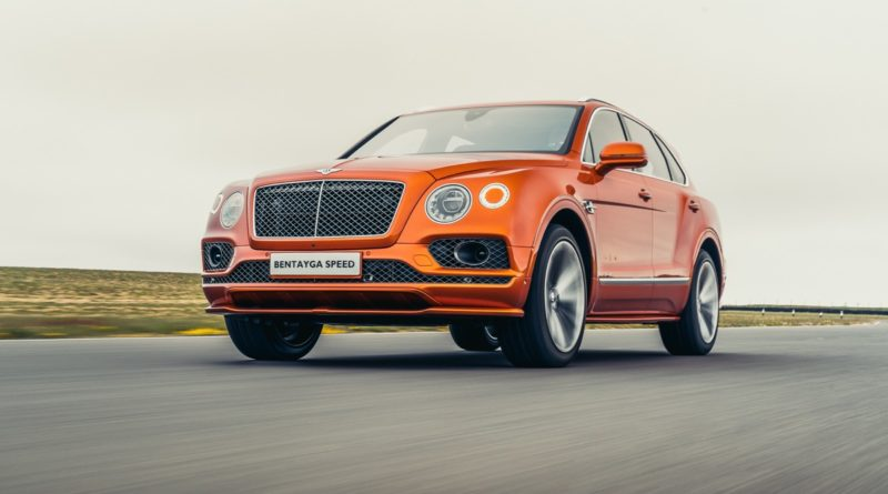 Bentley Bentayga Speed lead image