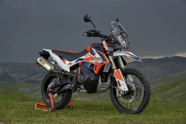 KTM 790 Adventure R Rally side profile