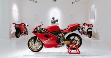 Ducati 916 exhibition