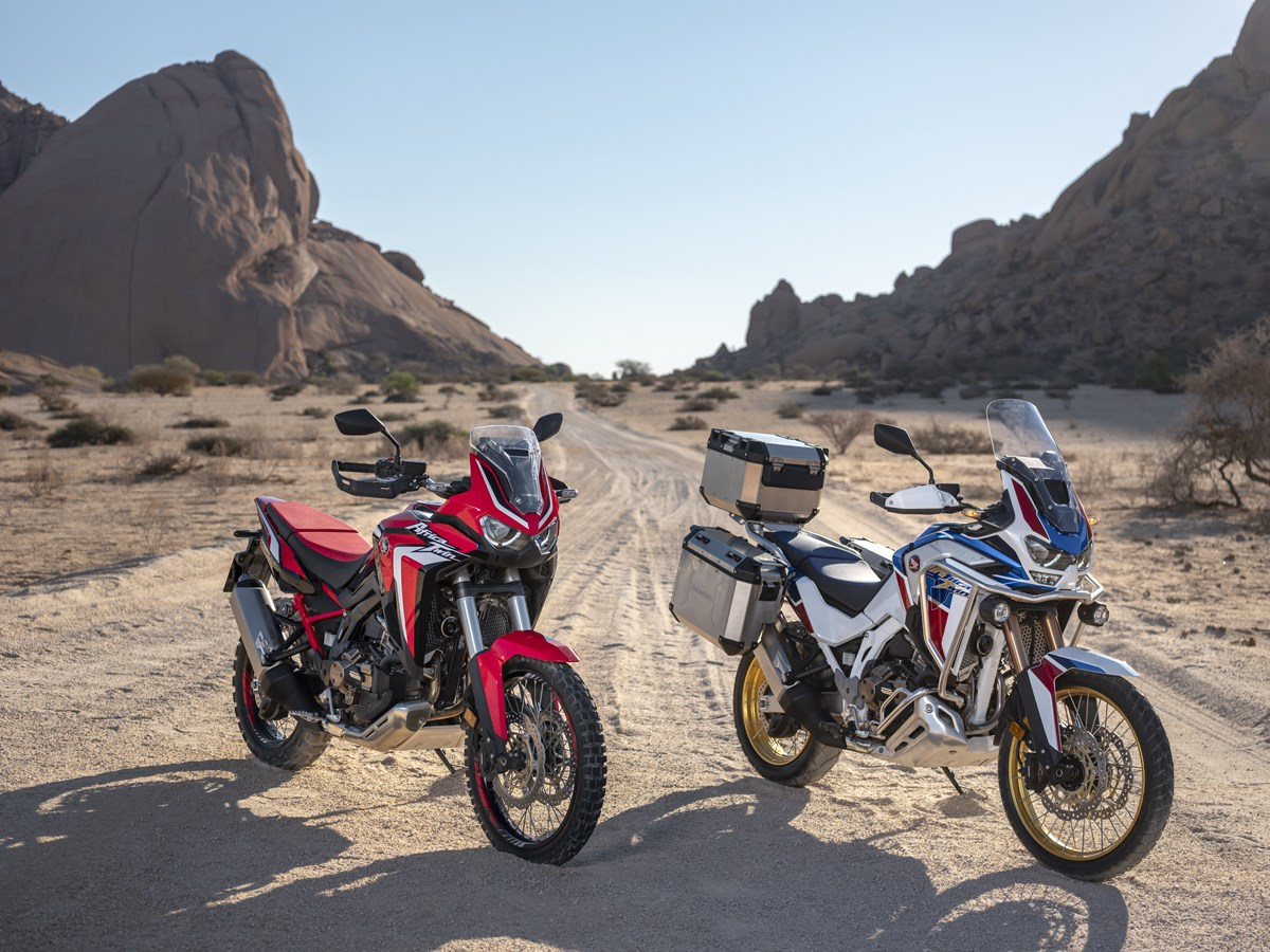 2020 Honda Africa Twin models
