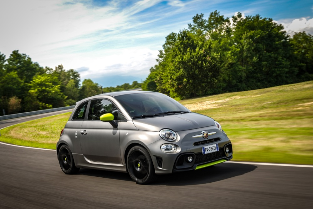 Abarth 595 Pista front