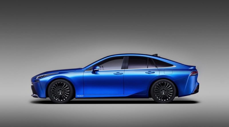 New Toyota Mirai concept is the coolest hydrogen-fuelled car yet.