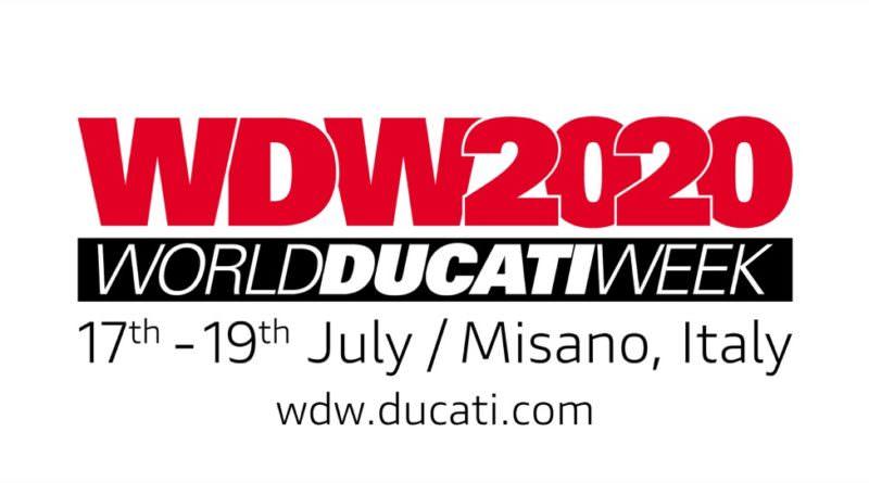 World Ducati Week 2020 dates announced